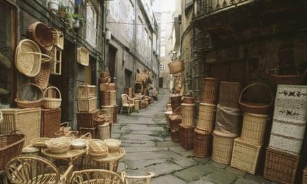 Vigo old town.