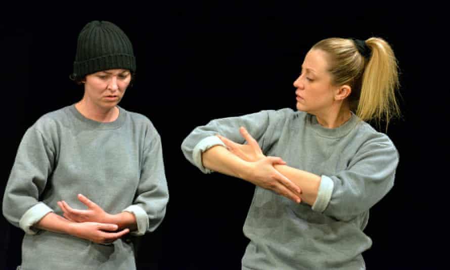 Jessica Johnson and Christina Berriman Dawson in Key Change.