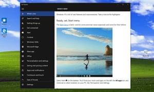 Windows 10 Get Started screenshot