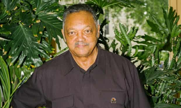 Jesse Jackson at his headquarters in Chicago this month.