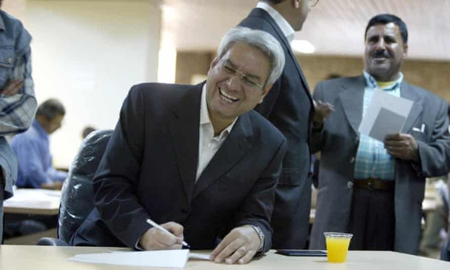 Ebrahim Asgharzadeh in 2005, by then a pro-reform politician