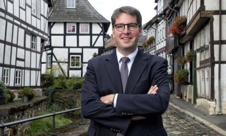 Oliver Junk, mayor of Goslar.