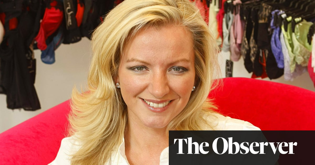 Michelle Mone  lingerie queen becomes the startup tsar  a23050b26