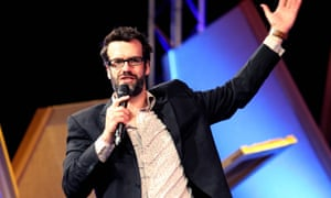 Marcus Brigstocke was the reader for Manwatching on review night, with Nick Helm and James Acaster to come.