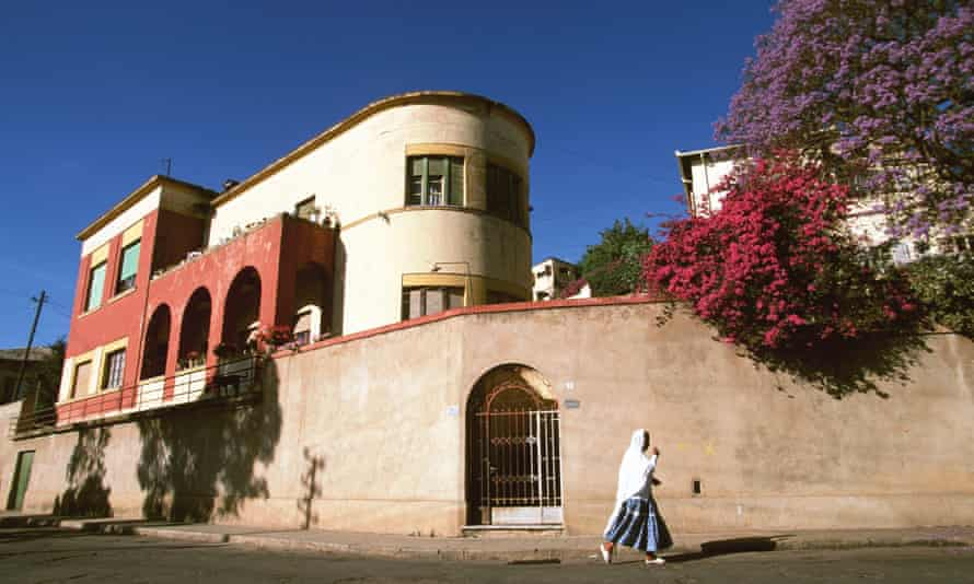 A villa in Eritrea's capital, Asmara