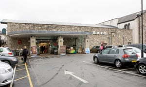Booth's supermarket in Kendal