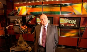 Fox News CEO Roger Ailes  poses at Fox News in New York.