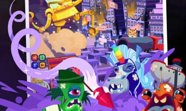 Monsters Ate My Metropolis for iPhone and iPad.