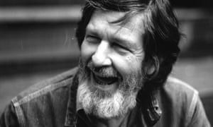 American composer, pianist and writer John Cage (1912 - 1992).