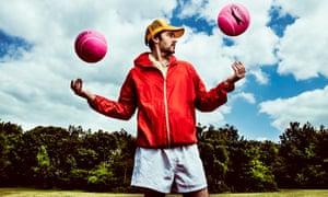 Team player … Adam Riches as Coach Coach. Photograph: Idil Sukan