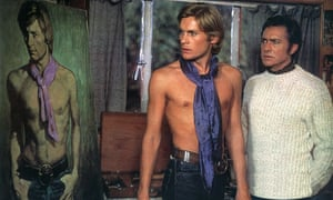 Helmut Berger and Richard Todd in the 1970 adaptation of The Picture of Dorian Gray.
