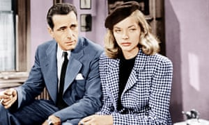 Humphrey Bogart, Lauren Bacall in The Big Sleep.