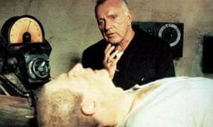 Richard Burton and John Hurt in Nineteen Eighty-four