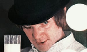Malcolm Macdowell in A Clockwork Orange