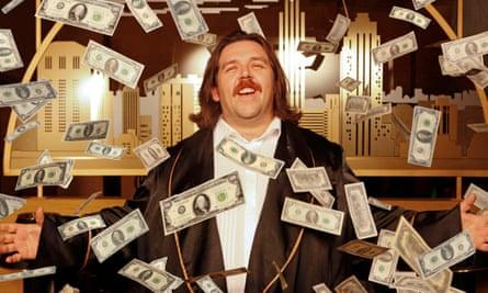 Nick Frost as John Self Martin Amis's Money.