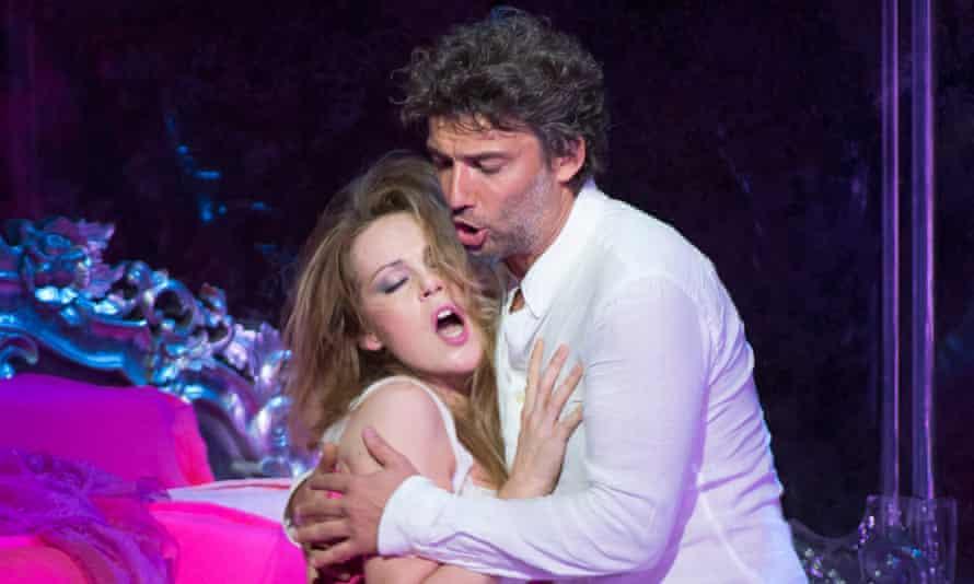 Kristine Opolais and Jonas Kaufmann in Manon Lescaut at the Royal Opera House.