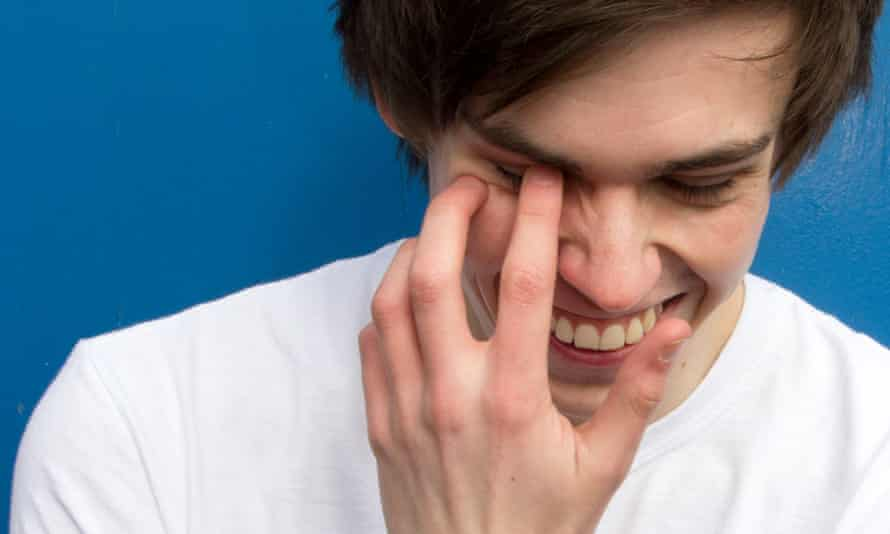 Rhys James is playing the Pleasance Courtyard.
