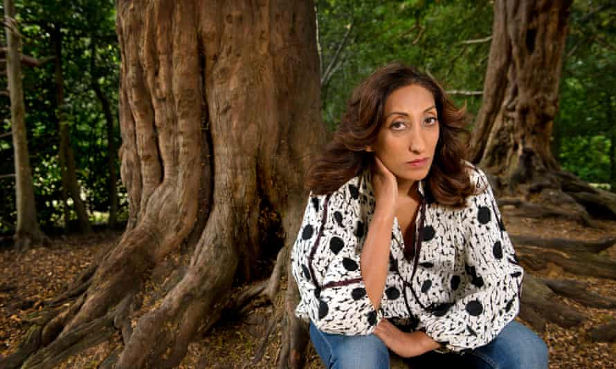 Comedian Shazia Mirza pictured in 2015 by Linda Nylind.