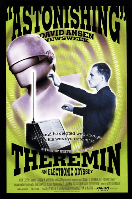 Poster for a documentary on the theremin.