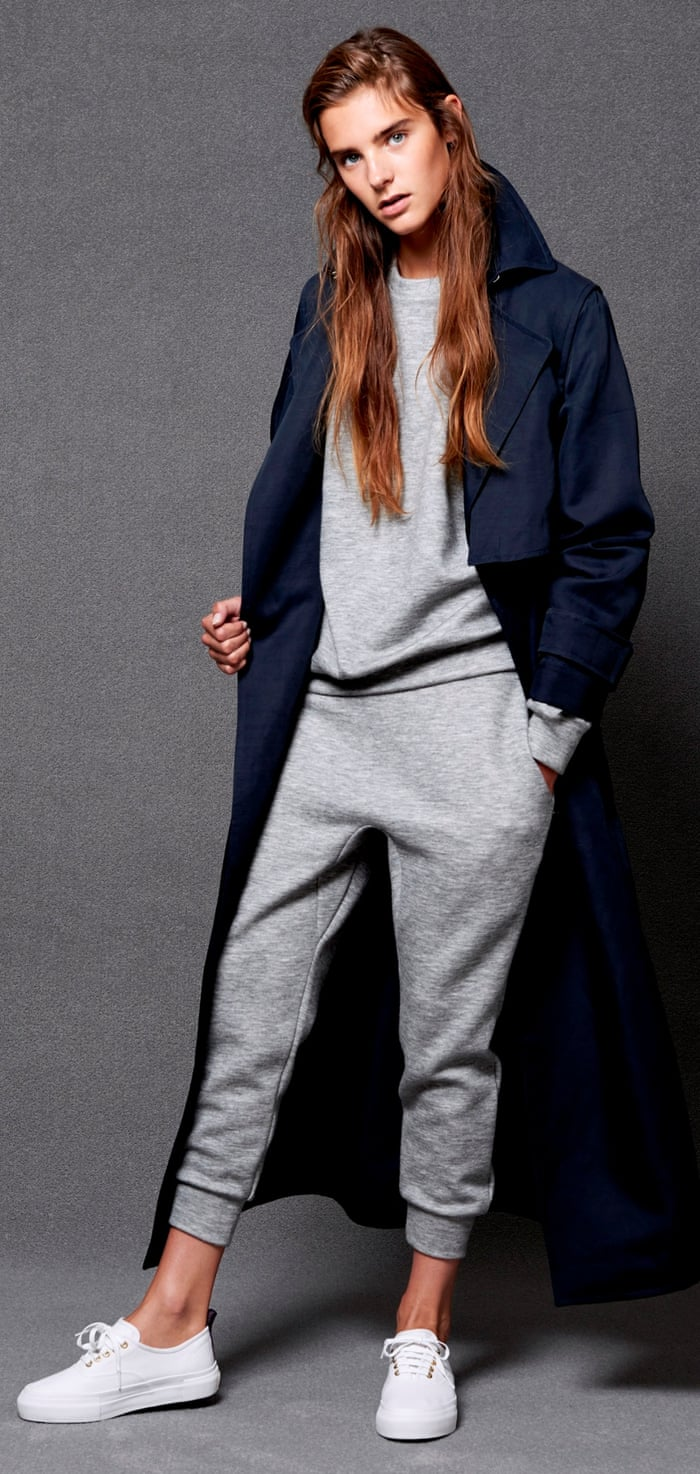 48f162f85910 So you thought the tracksuit could never make it in women's fashion? Jog  on! | Fashion | The Guardian
