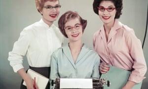 Take inspiration …three secretaries in 1958.