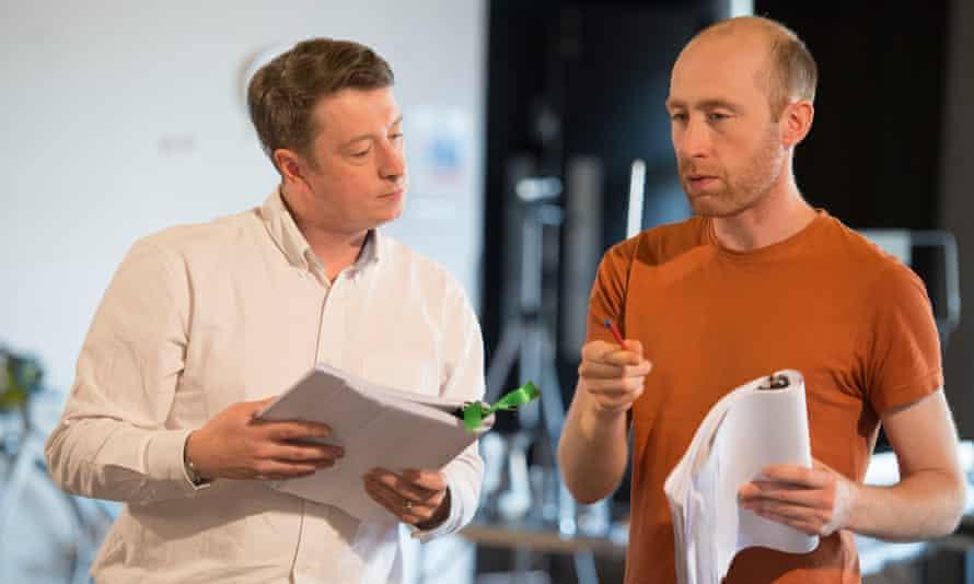 Graham Eatough with Sandy Grierson