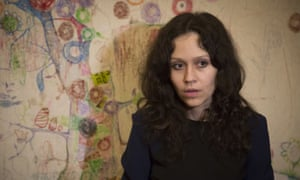 Lyudmila Savchuk, who worked at the trolling factory for two months.