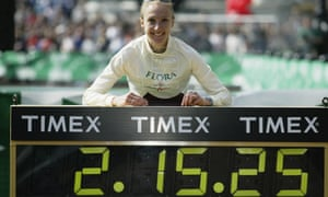 Paula Radcliffe in 2003