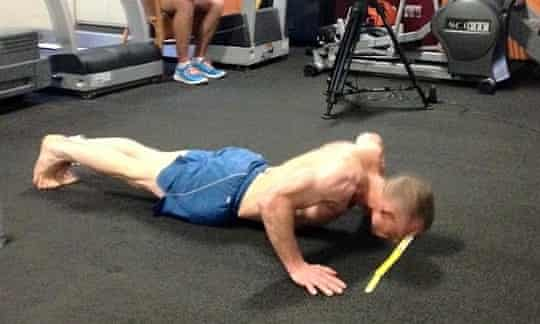 Most Press-Ups In An Hour