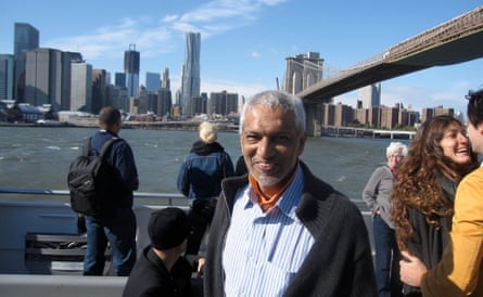 Shahahnaz Habib's father visiting her in New York