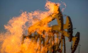 Fracking for oil in North Dakota