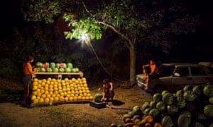 melon sellers in ukraine