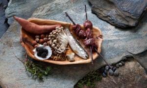 Paleo food.