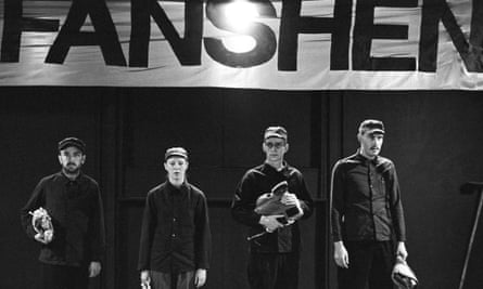 Hare's Fanshen performed by the Joint Stock Theatre Company in 1975.