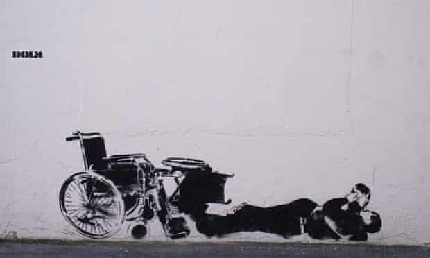 Street artists Dolk's identity is a mystery