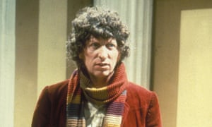 'Like the best uncle you never got to meet' … Tom Baker as Doctor Who