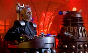 Did I do that? Davros and a dalek