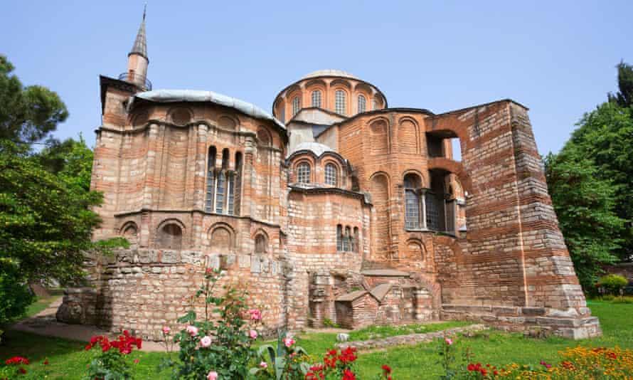 The Chora church, Balat.