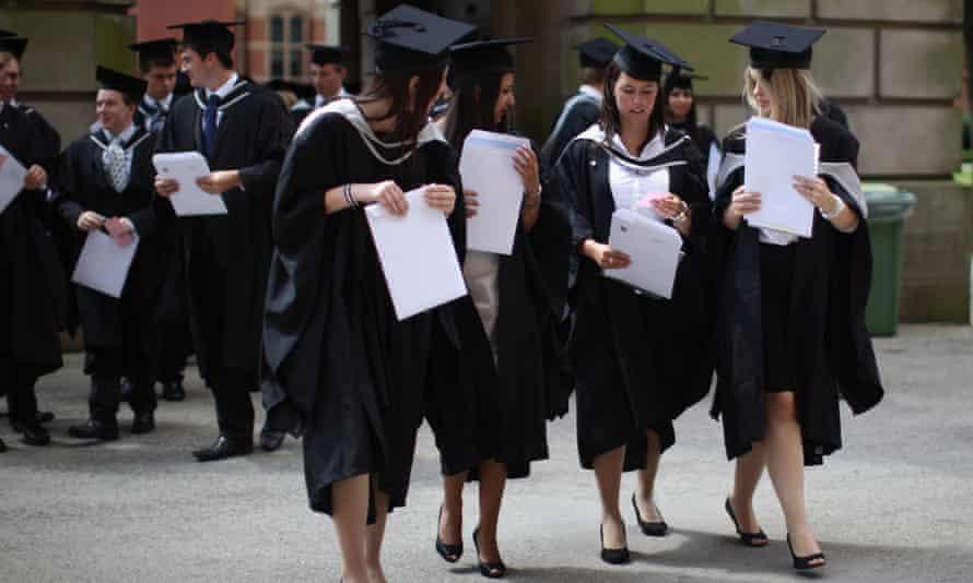 Graduates at Birmingham university