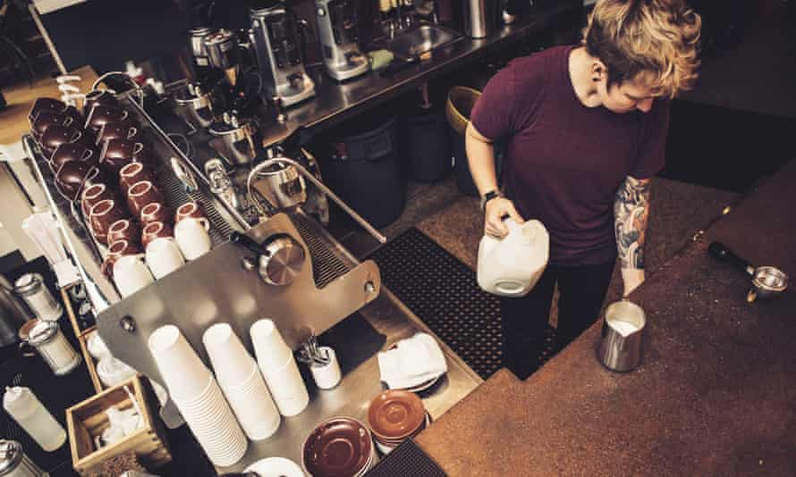 Where are all the women baristas?
