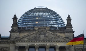 German MPs prepare to vote on the Greek bailout at the Bundestag, pictured here.