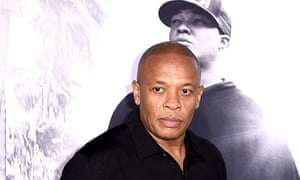 Dr Dre … at the premiere of Straight Outta Compton.