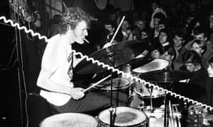 Ginger Baker onstage at the Star Club in Hamburg