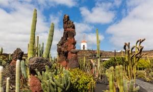 Jardín de Cactus, Lanzarote.