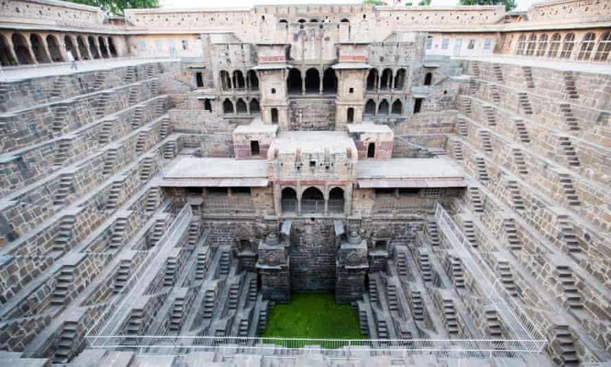 Chand Baoli (stepwell), Abaneri, Rajasthan, India