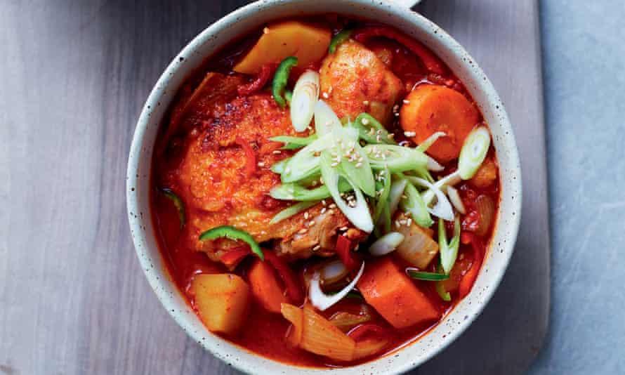 Warming Chicken and Potato Stew