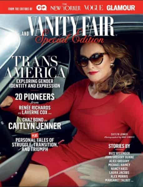 Caitlyn Jenner cover's Vanity Fair 'Trans America' special edition