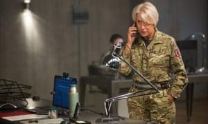 Queen of the sky ... Helen Mirren stars as Colonel Katherine Powell in Gavin Hood's tense thriller Eye in the Sky.