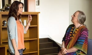 Amy Landecker and Jeffrey Tambor in Jill Soloway's series Transparent.