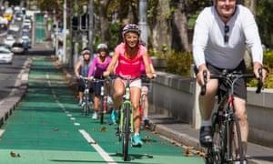Sydney cycle way